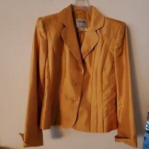 Collection for Le Suit Blazer/Skirt Set - 6